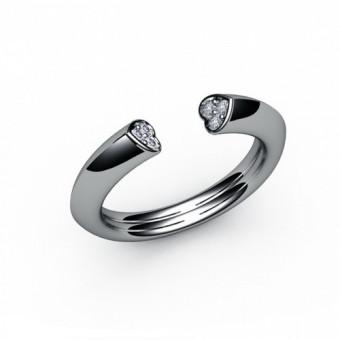 Женские кольца на заказ. Модель К-1027
