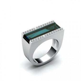 Женские кольца на заказ. Модель К-1033