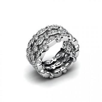 Женские кольца на заказ. Модель К-1035