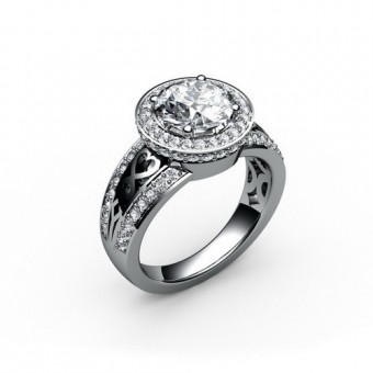 Женские кольца на заказ. Модель К-1036