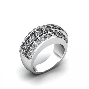 Женские кольца на заказ. Модель К-1054