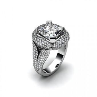 Женские кольца на заказ. Модель К-1056