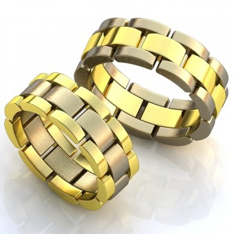 Обручальное кольцо на заказ. Модель obr-109
