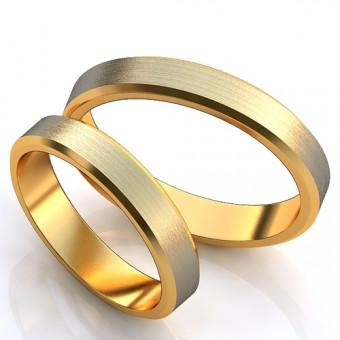 Обручальное кольцо на заказ. Модель obr-1