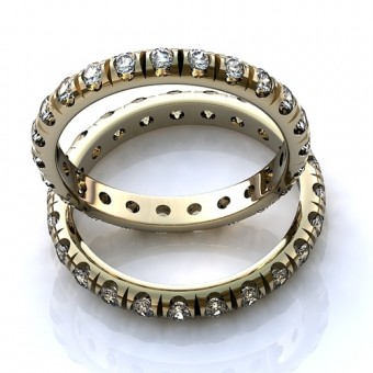 Обручальное кольцо на заказ. Модель obr- 523