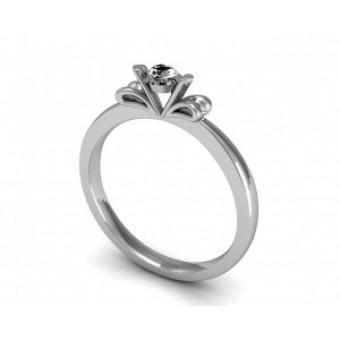 Помолвочные кольца на заказ. Модель Os 2539