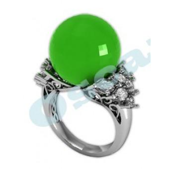 Дизайнерские кольца на заказ. Модель Os 7002