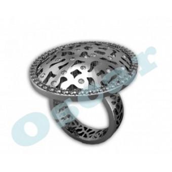 Дизайнерские кольца на заказ. Модель Os 7003