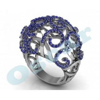 Дизайнерские кольца на заказ. Модель Os 7005