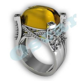 Дизайнерские кольца на заказ. Модель Os 7028
