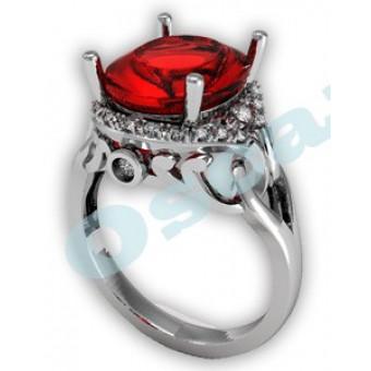 Дизайнерские кольца на заказ. Модель Os 7033