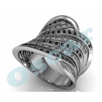 Дизайнерские кольца на заказ. Модель Os 7041