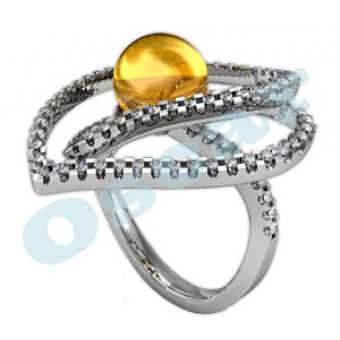 Дизайнерские кольца на заказ. Модель Os 7044