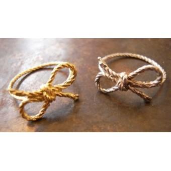 Кольца в форме каната (веревки)