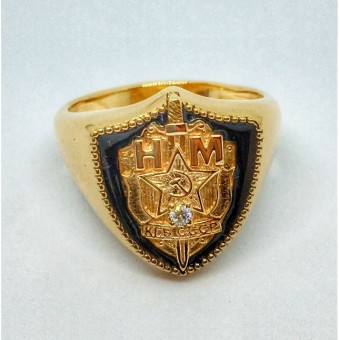 Печатка (кольцо) КГБ