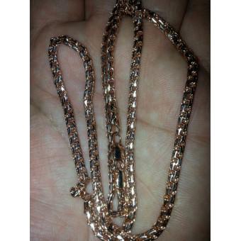 Золотая цепь Бисмарк 15 грамм из золота 585 пробы на заказ