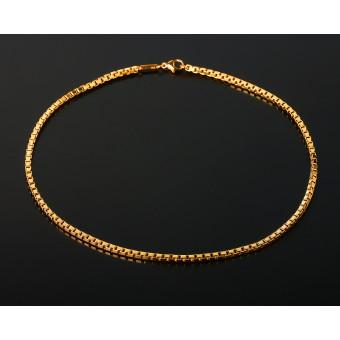 Массивная золотая цепь Chopard