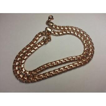 Золотая цепь Бисмарк 50 грамм из золота 585 пробы на заказ