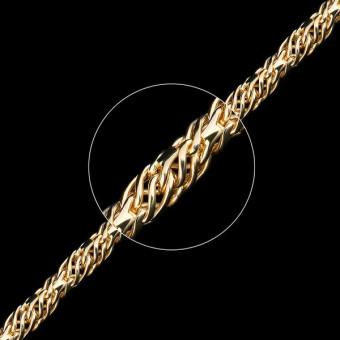 Цепь золотая плетение Ажурное