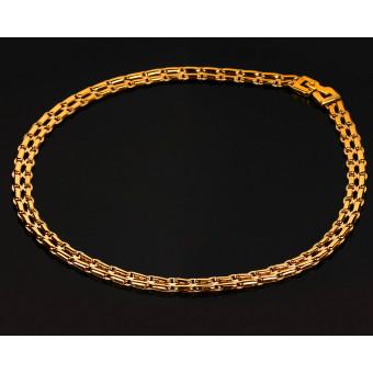 Роскошная золотая цепь Baraka